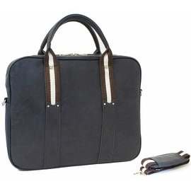"""SettonBrothers Briefcase for up to 15"""" Laptops, Blue"""