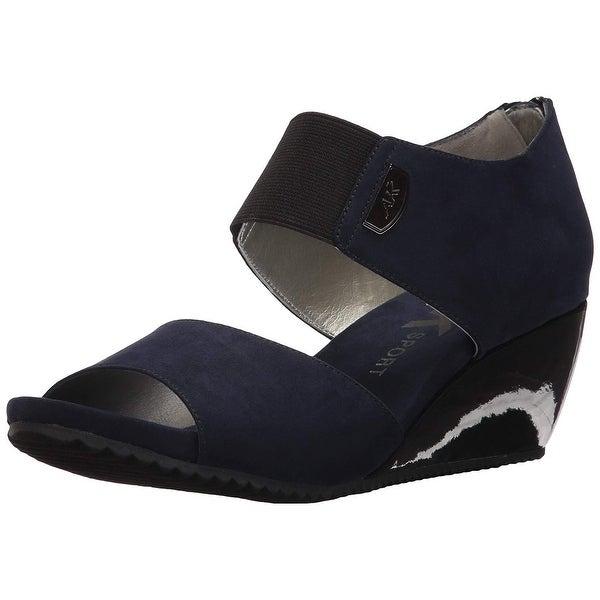 df11d6545baf Shop Anne Klein AK Sport Women s Carisma Fabric Wedge Sandal - Free ...