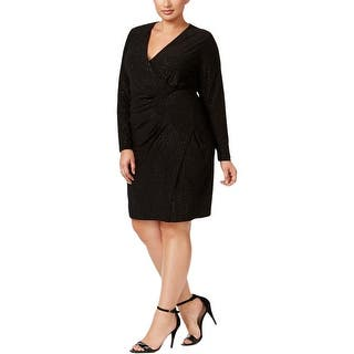 0494a1eafc Calvin Klein Womens Plus Wear to Work Dress Tiered Bell Sleeves · Quick View