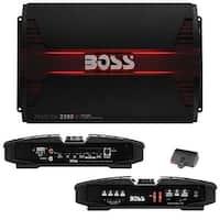 Boss PHANTOM 2200 Watts 2Channel Power Amplifier Remote Subwoofer Level Control