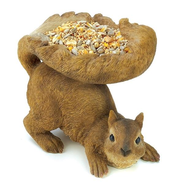Woodland Squirrel Birdfeeder
