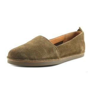 Latigo Twyla Women Round Toe Suede Green Loafer