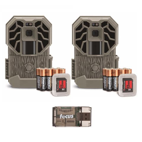 Stealth Cam G26NG Pro 12MP Trail Cameras w/ Batteries & Cards (2-Pack)