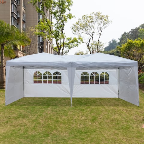 10'x20' Camping Beach Gazebo Pop-Up Canopy Party Tent 2 Color
