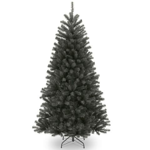 6.5 North Valley Black Spruce Artificial Christmas Tree  Unlit - 6.5 Foot