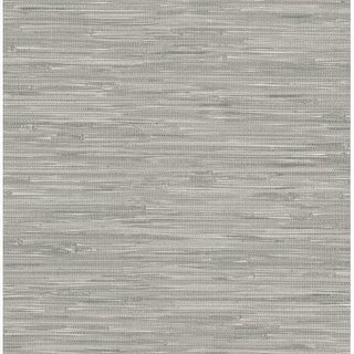 Brewster NU2083 30-3/4 Square Foot - Tibetan Grasscloth - Prepasted Vinyl Wallpaper