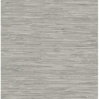 Brewster NU2083 30-3/4 Square Foot - Tibetan Grasscloth - Prepasted Vinyl Wallpaper - N/A