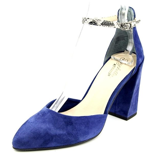 Seychelles Gaggle Women Pointed Toe Suede Slingback Heel