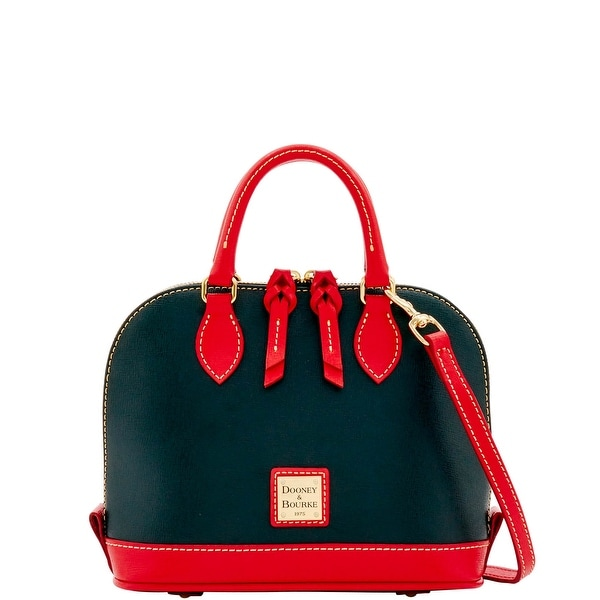 Dooney & Bourke Saffiano Bitsy Bag (Introduced by Dooney & Bourke at $178 in Sep 2016) - Black