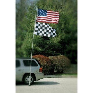 Bsi Products Inc 16 ft Telescoping Tailgate Flagpole Flag Pole