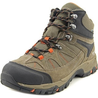Hi-Tec Altitude Lite I WP Women Round Toe Canvas Brown Hiking Boot