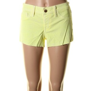 Sold Design Lab Womens Bleeker Baby Casual Shorts Corduroy Low-Rise - M