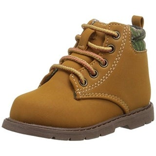 Natural Steps Boys Grove Faux Leather Hiking Boots - 12
