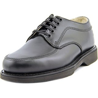 American Worker Service 6E Round Toe Leather Oxford