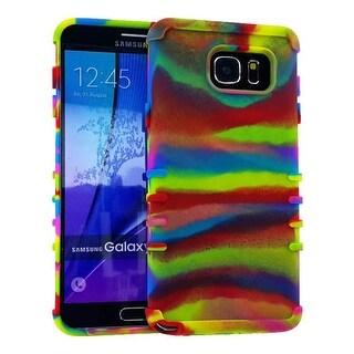 Rocker Series Slim Skin Protector Case for Samsung Galaxy Note 5 (Rainbow)