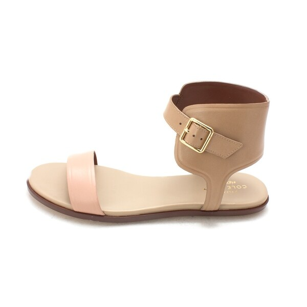 Cole Haan Womens Barrasam Open Toe Casual Ankle Strap Sandals - 6