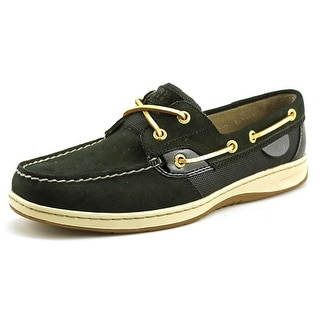 Sperry Top Sider Bluefish Mirco Dot Moc Toe Leather Boat Shoe