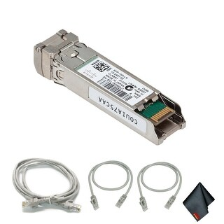 Cisco10Gbase-LR SFP+ Transceiver with Extra Cat5 Cables (1-Pack)