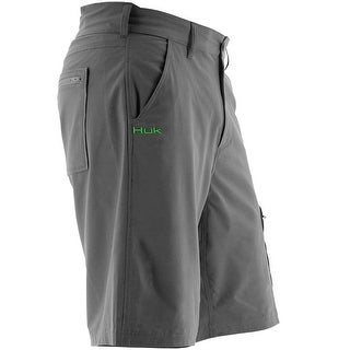Huk Men's Next Level Performance Fishing Shorts
