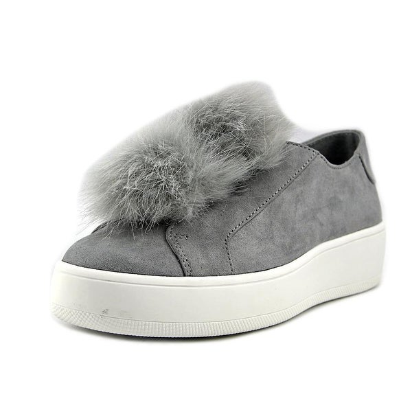 adf3770667a Shop Steve Madden Bryanne Women Round Toe Synthetic Gray Sneakers ...