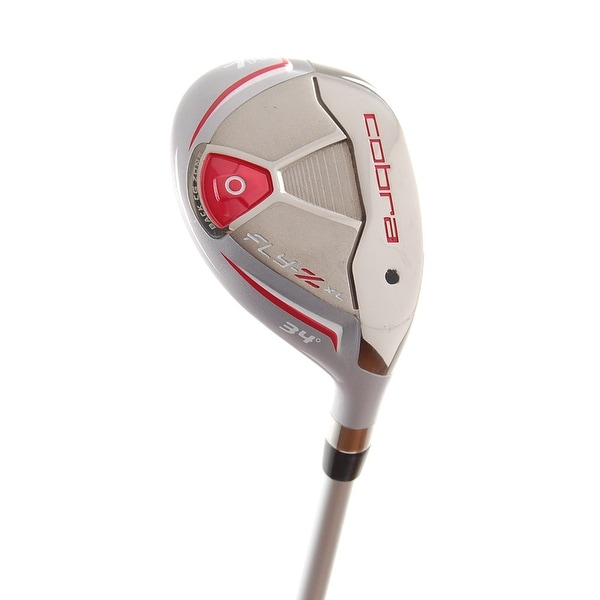 New Cobra Ladies Fly-Z XL (Red) Hybrid #7 34* Graphite 55g RH +HC