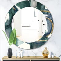 Blue Round Mirrors Shop Online At Overstock