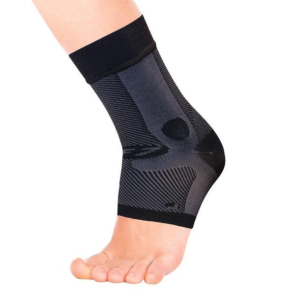 AF7 Ankle Bracing Black Sleeve - Left - Large