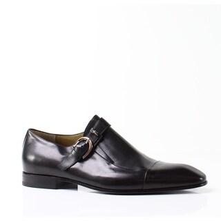 Cesare Paciotti NEW Black Men's Shoes Size 12 Monk Strap Oxford