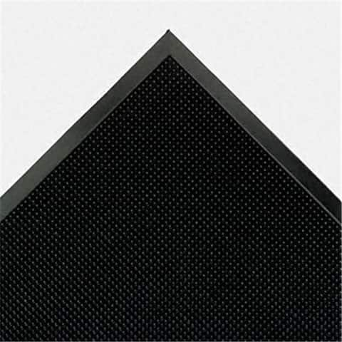 Crown MAFG62BK Mat-A-Dor Entrance/Antifatigue Mat- Rubber- 36 x 72- Black