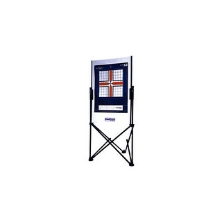 Champion 40884 champion paper target holder stand w/carrying case black