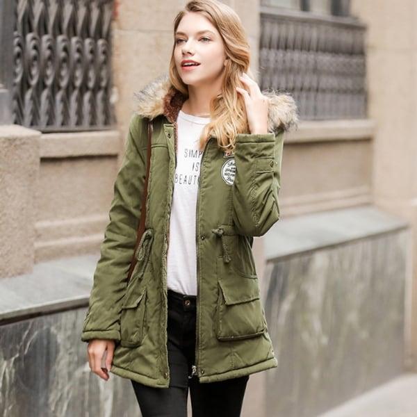 4f7e9e7a6 Shop Small to Plus Size Womens Winter Faux Collar Coat - On Sale ...