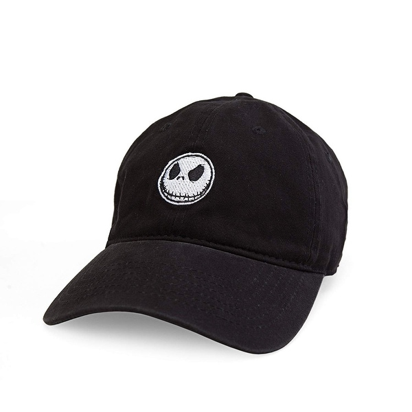 f4a1cd1a64bb3 Shop Nightmare Before Christmas Jack Skellington Dad Hat - Free Shipping On  Orders Over  45 - Overstock - 22427227