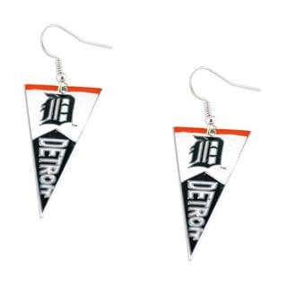 Detroit Tigers MLB Pennant Dangle Earring