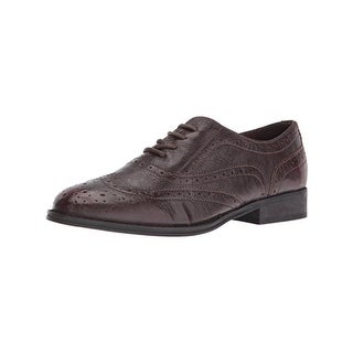 Not Rated Womens Pinka Oxfords Leather Brogue