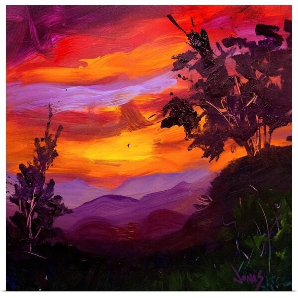"""Full Glory Sunset III"" Poster Print"