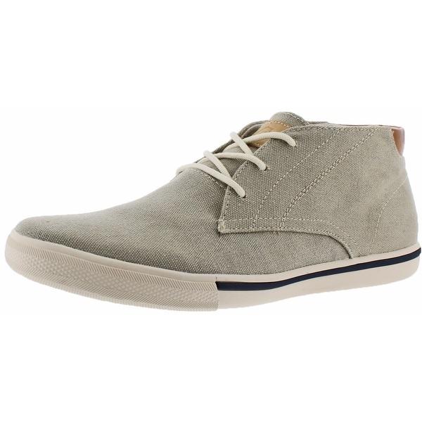Tommy Bahama Calderon Mens Canvas Chukka Boots Shoes