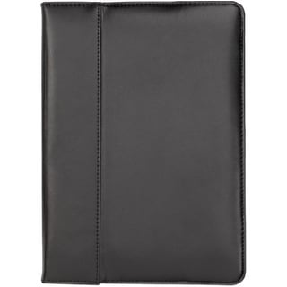 Cyber Acoustics IC-1930 Cyber Acoustics Carrying Case (Portfolio) for iPad Air - Black - Scratch Resistant Interior - Leather -