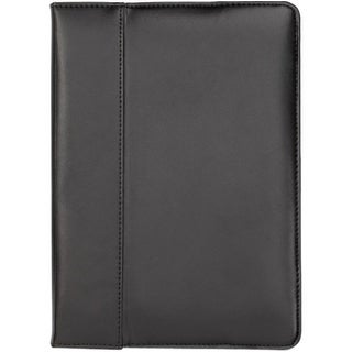 """Cyber Acoustics IC-1930 Cyber Acoustics Carrying Case (Portfolio) for iPad Air - Black - Scratch Resistant Interior - Leather -"