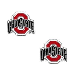 Ohio State Buckeyes Post Stud Earring NCAA Charm Set