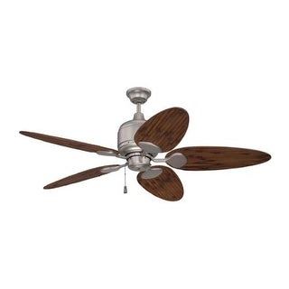 "Craftmade K11226 Kona Bay 54"" 5 Blade Indoor / Outdoor Ceiling Fan with Blades Included"
