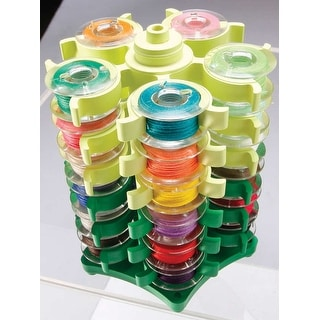 "Stack 'n Store Bobbin Tower W/Nancy Zieman-3.5""X3.75"""
