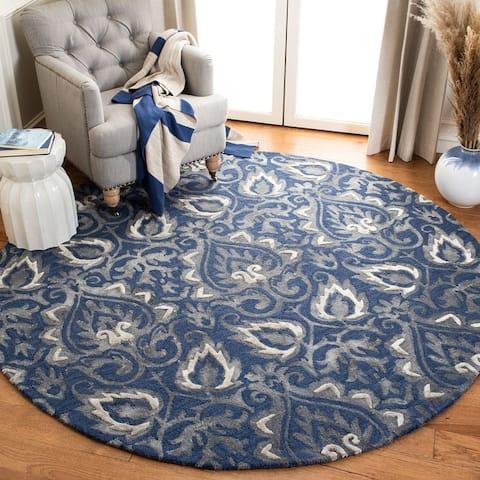 Safavieh Handmade Dip Dye Rozanne Watercolor Vintage Boho Wool Rug
