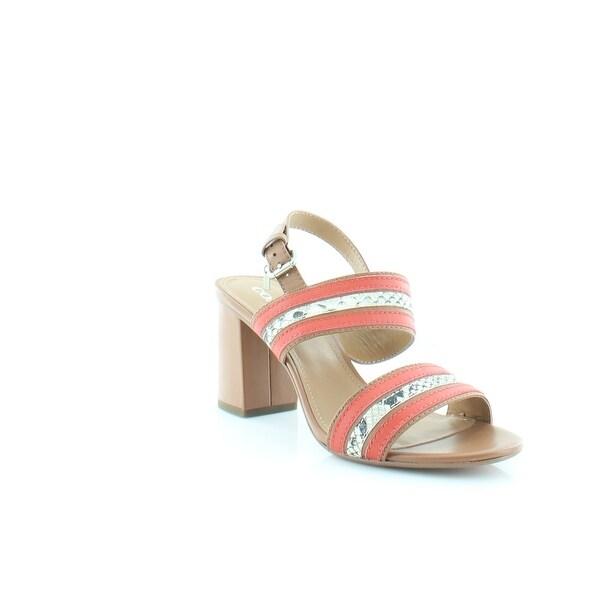 Coach Princeton Women's Heels Saddle/Carmine - 10