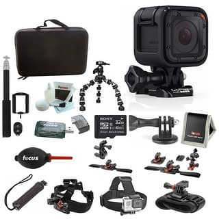 GoPro HERO4 Session, Action Camera Tripod Adapter, Vivitar VIV-TR-420-BLK Selfie with Wireless Shutter Release (Black) Bundle|https://ak1.ostkcdn.com/images/products/is/images/direct/12881a2d77eca47d6198c1feba801d92dfa942ad/GoPro-HERO4-Session%2C-Action-Camera-Tripod-Adapter%2C-Vivitar-VIV-TR-420-BLK-Selfie-with-Wireless-Shutter-Release-%28Black%29-Bundle.jpg?impolicy=medium