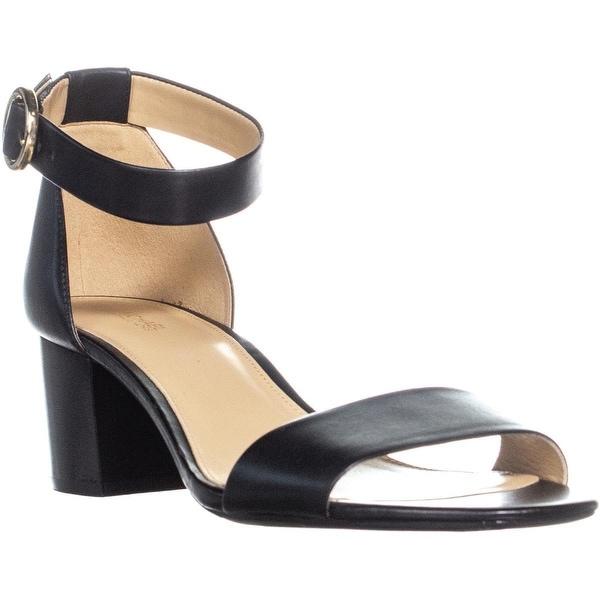 a61f9a0447b Shop Michael Kors Lena Flex Mid Ankle Strap Block Heel Sandals ...