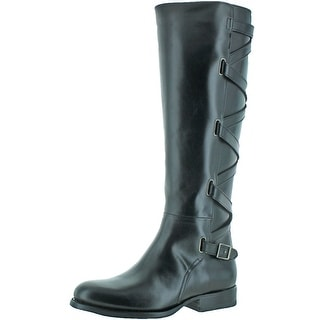 Frye Jordan Women's Strappy Tall Leather Riding Boots