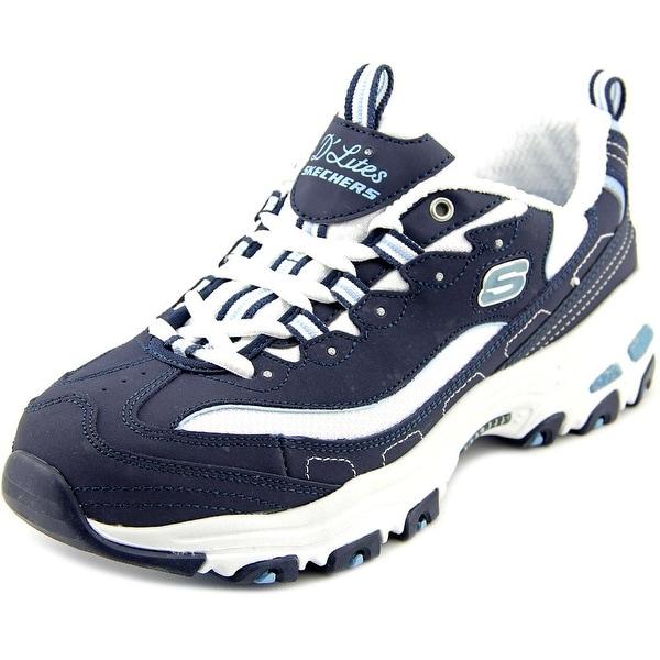 Skechers D'Lites-Biggest Fan Women Round Toe Synthetic Walking Shoe