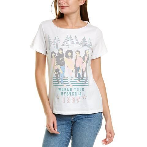 Recycled Karma Def Leppard Hysteria 1987 T-Shirt