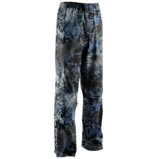 Huk Men's Camo Packable Large Kryptek Neptune Packable Fishing Rain Pants