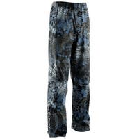 Huk Men's Camo Packable XX-Large Kryptek Neptune Packable Fishing Rain Pants